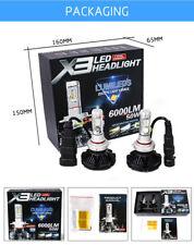 KIT x3  LED h4 6000K  5S 12-000LM CANBUS HEAD LIGHT 12V-24V LUMINOSISSIME
