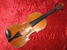 Leicht geflammte, alte 4/4 Geige (muss erst überholt & ergänzt werden)