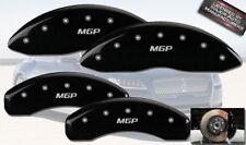 "2011-2015 Lincoln MKX Front + Rear Black ""MGP"" Brake Disc Caliper Covers 4pc Set"
