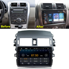 "For 2008-13 Toyota Corolla 9""inch Android 9.1 Car Radio MP5 Player GPS Navi Wifi"
