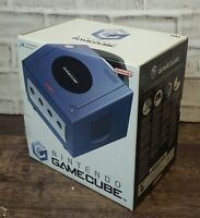 Nintendo Gamecube indigo purple Boxed opened never used PAL