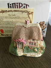 "Lilliput Lane Collector ""Lavender Cottage "" 1989 Signed by David Tate"