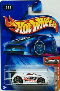 Hot Wheels 2004 First Editions Tooned TOYOTA MR2 (White) Card #038