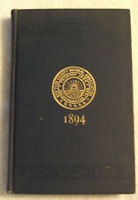 New York County Medical Ass.- Register of Members, Manual of Information 1894