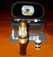 FRED ZINK CALL OF DEATH COD GOOSE CALL+CASE+BAND+DVD GOLD RUSH BRASS BAND NEW!