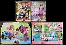 Pregnant Midge Barbie Doll Alan Happy Family Nursery AND Living Room Playset VGA