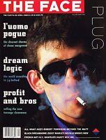 THE FACE April 1988 SHANE MACGOWAN Bros ROBERT TOWNSEND Juergen Teller @NEAR MNT