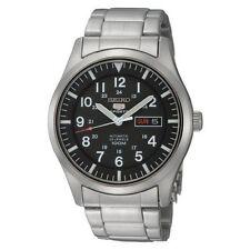 Relojes de pulsera Seiko 5 Sports resistente al agua de acero inoxidable