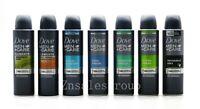 Dove Men Anti-Perspirant Deodorant Body Spray 3 Packs 150ml ( 7 Scents Choices )