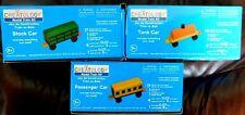 Creatology (3) Wood Model Train Kits