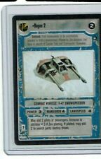Decipher Star Wars Ccg Hoth Unplayed Black Border Bb Rogue 2 Rare