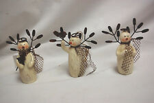 1-Box of 20 / SNOW ANGEL ORNAMENTS IN 3-DIFFERENT STYLES (NWT) (#X1048)