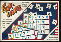 Four-Words Child's First Spelling Game Educational Home School Learn  BRAND NEW