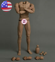 "US 1/6 Flexible Male Body 12"" Soldier Durable Model Action Figure Toy"