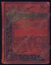 1891 MOTHER TRUTH'S MELODIES Nursery Rhymes POEMS Humpty-Dumpty LITTLE BO-PEEP