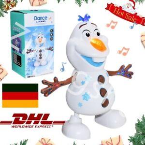 Tanzen Schneemann Olaf Musikalisches Spielzeug Winken Arme Weihnachtsgeschenk