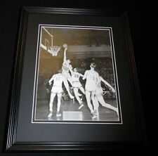 George Mikan vs Lee Knorek 1949 Lakers Knicks Framed 11x14 Photo Display