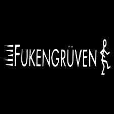 FukenGruven Funny Adult Rude Rear Car Truck Window Laptop Vinyl Decal Sticker.