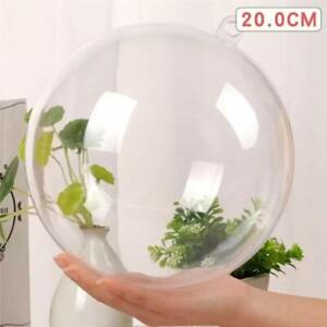 20cm Clear Fillable Hanging Ball - Christmas Decor - DIY Party Decoration