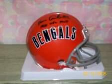 KEN ANDERSON SIGNED T/B BENGALS MINI HELMET 81 NFL MVP