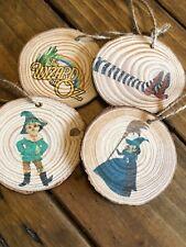 Decoration Wizard Of Oz  Xmas Tree Hanging Set Of 4 Birthday Gift