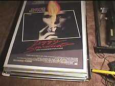 ZIGGY STARDUST & SPIDERS FROM MARS ROLL 27X41 ORIG MOVIE POSTER '73 DAVID BOWIE