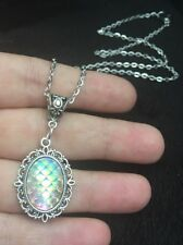 Mermaid Necklace Dragon Egg Pendant Game Of Thrones Little Ariel Scale Charm Joy
