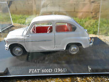 AUTO VINTAGE FIAT 600 D - 1960 -  SCALA 1/24