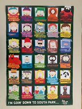 SOUTH PARK,I'M GOIN' DOWN TO SOUTH PARK', RARE AUTHENTIC 2006 POSTER