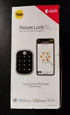 Yale YRD256CBA619 Assure SL Touchscreen Lock Satin Nickel August Door Sense+Wifi