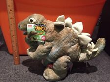 Roar N' More Cuddle Barn Dinosaur Stegosaurus Plush Roaring Dino New