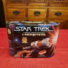 1997 Playmates Star Trek Captain Pike's Laser Pistol Toy 16127 BOX & GUTS ONLY
