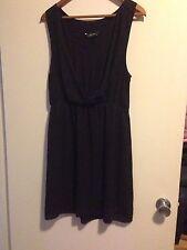 DECJUBA BLACK EVENING DRESS SIZE 14
