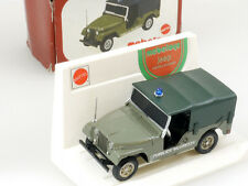 MEBETOYS A 89 JEEP WILLYS P. sicurezza MATTEL 1:43 MIB RARE BOX OVP 1411-10-51