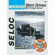 SELOC MERCRUISER STERN DRIVE MOTOR ENGINE REPAIR MANUAL #3208 2001-13