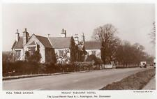 Mount Pleasant Hotel Rossington Doncaster Advertising unused plain back RP pc
