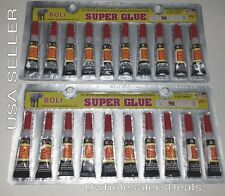 Super Glue - 'Cyanoacrylate Adhesive' 20 Small Tubes