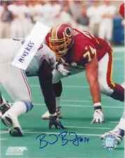 Brad Badger Washington Redskins Autographed Signed 8x10 Photo Coa Stanford