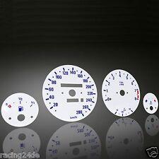 Plasma Tachoscheiben Set für BMW 3er E30 M3 260/8000 weiß/blau
