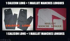 1 CALECON LONG + 1 MAILLOT MANCHES LONGUES - M L XL XXL