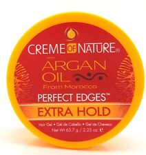 Creme of Nature with Argan Oil Perfect Edges Extra Hold Hair Gel 2.25oz