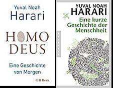 Im Set: Homo Deus + Eine kurze Geschichte der Menschheit, Yuval Noah Harari