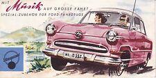 Mit Musik auf große Fahrt-Spezial-Zubehör für Ford-Fahrzeuge/Blaupunkt-Radio