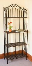 Versailles Metal 4 Tier Rack- Ideal as a plant stand or general shelving