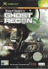 GHOST RECON for Xbox - with box & manual - PAL