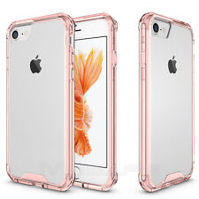 For Apple iPhone 8 7 Plus Clear Hard Case Mosafe® TPU Bumper Shockproof Cover