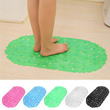 Large Strong Suction Anti Non Slip Bath Shower Mat - Foot Massage + 5 Colours