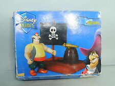 Peter Pan Playset PIRATE Radeau Figurine Disney Heroes FAMOSA pvc Figure raft