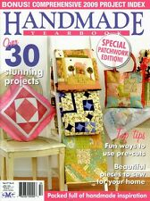 HANDMADE MAGAZINE  VOL 27 NO 8.  2010. PATTERN SHEETS  ATTACHED.