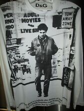 NEW  TAXI DRIVER Movie  Shirt Dolce & Gabbana Made in Italy WHITE SIZE M